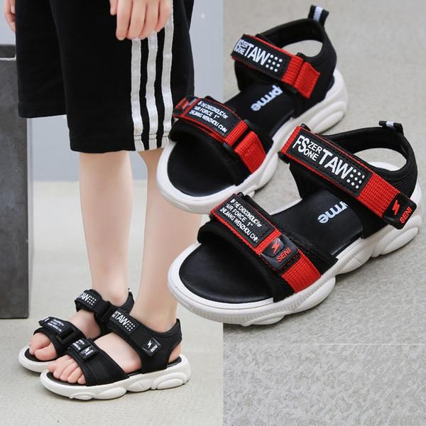 Acheter Nouveaux Garçons Sandales D'été Baskets Enfants Non Slip Chaussures De Plage Sandales Pour Enfants Étudiant Casual Marche Chaussures De Mode