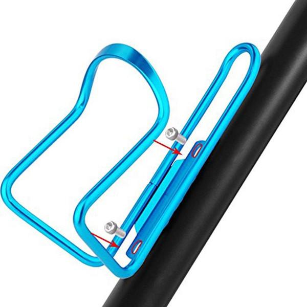 Vélo Bicyclette Porte-Bouteille D'eau En Alliage D'aluminium Vélo Bouteille Peut Cage Support Vélo Boire De L'eau Coupe Rack Accessoires # 663118