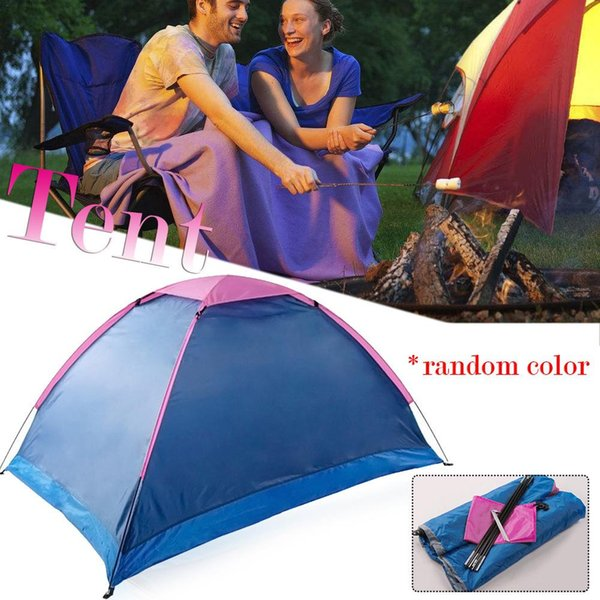 Oxford Cloth Outdoor High Quality Single-layer Tent Waterproof Camping Gear For Outdoor Hiking Couple For Hiking