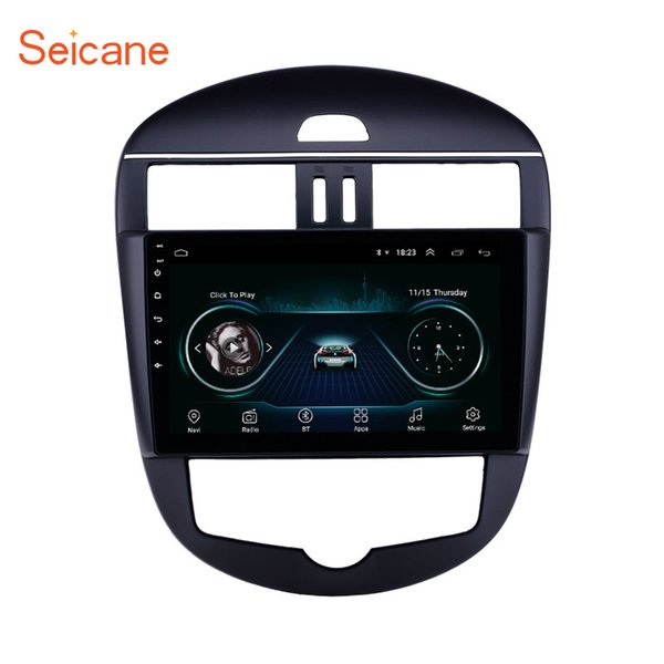 10.1 inch Android 8.1 Car Radio for 2011-2014 Nissan Tiida Auto A/C Bluetooth WIFI HD Touchscreen GPS Navigation support Carplay Rear camera