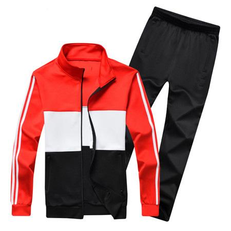 Mens Designer Tracksuits Sweatshirt+Pants Sports Running Casual Active with Size M-5XL High Quality Hot Style Zipper Tracksuits B100100Q
