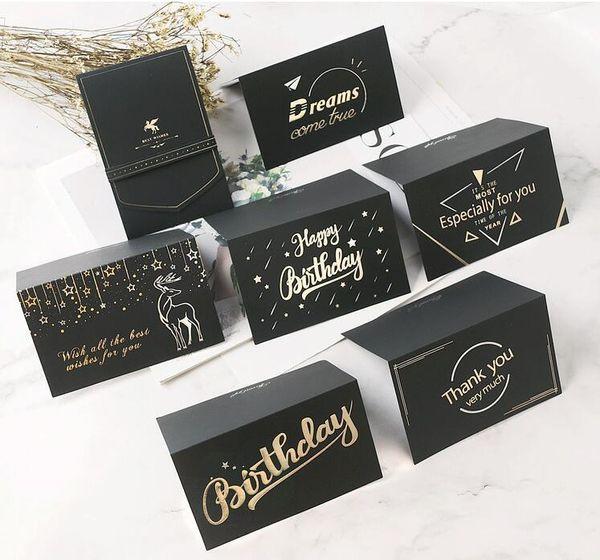 Moderne Hochzeitseinladungskarten-Geburtstagsgrußkarte mit Umschlag