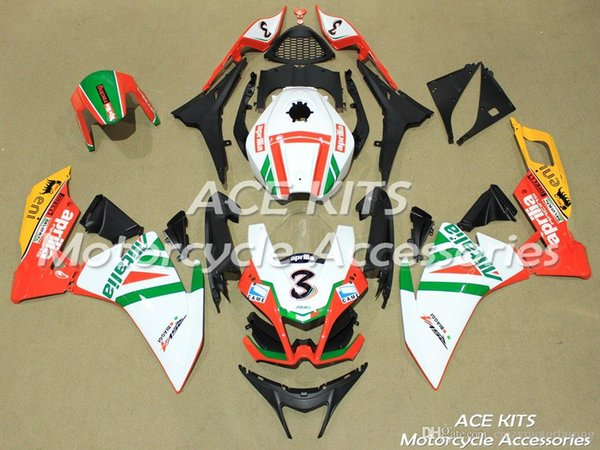Neue ABS-Spritzgussverkleidungen für Aprilia RS4 50 125 2012 2013 2014 RS4 50 125 12 13 14 15 Alle Arten von Farben Nr. M886