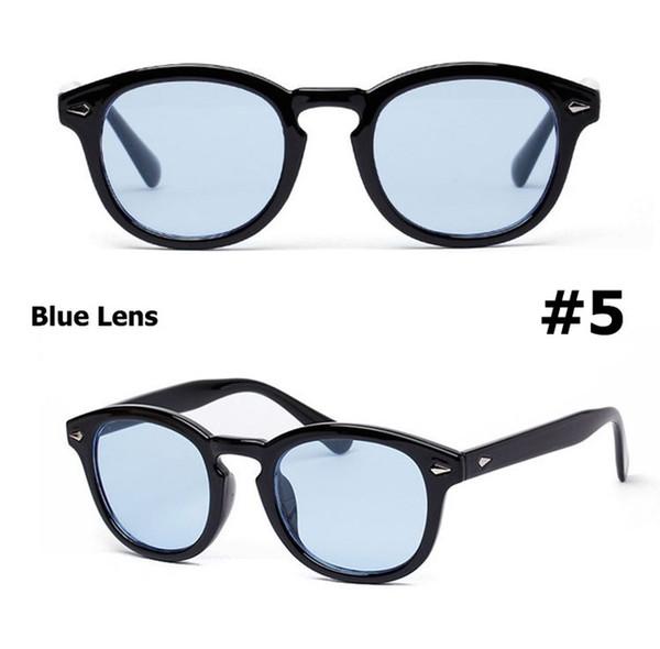 5 lenti blu