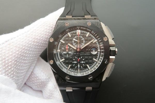 JF montre DE luxe para hommes super luminosa 3126 relógios de luxo automáticos mecânicos dos homens 44mm relógios de grife