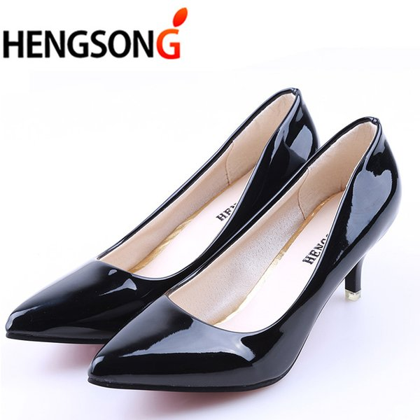 New Design High Heels Business Women Shoes Pointed Toe