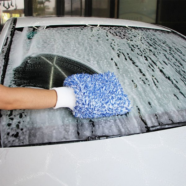 Soft Absorbancy Glove High Density Car Cleaning Ultra Soft Easy To Dry Auto Detailing Microfiber Madness Wash MiCloth Towel