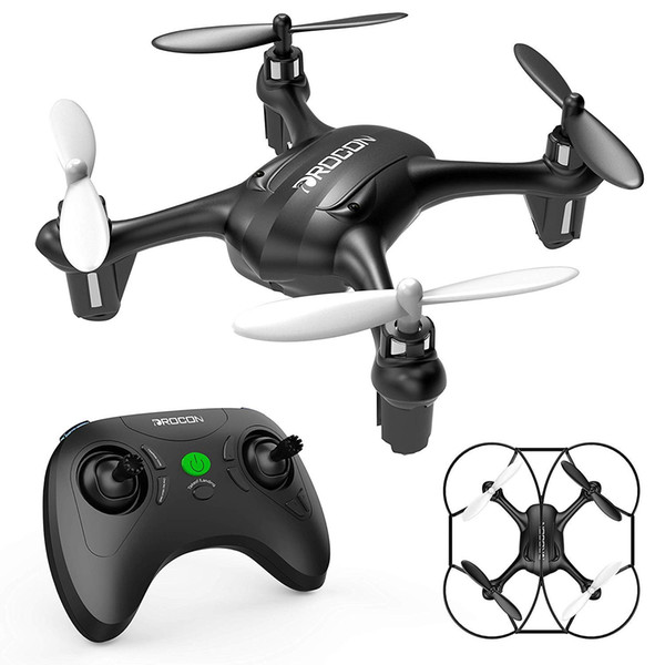 DROCON Falcon Mini Quadcopter RC Drone for Beginners with Altitude Hold, Headless Mode, One-Key Take-Off Landing & Return