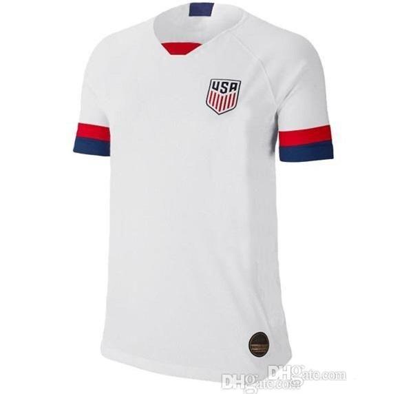 19 20 USA PULISIC Soccer Jersey 2019 DEMPSEY BRADLEY ALTIDORE WOOD America Football jerseys United States Shirt Camisetas Thai quality