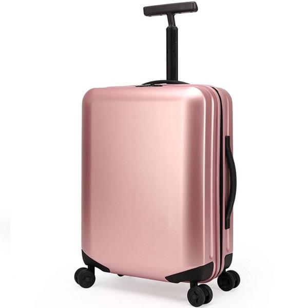 20 25 28 pollici borse per valigie in PP timoni ruote universali rotolamento carry on valigia trolley borsa da viaggio Trafilatura Fanggua