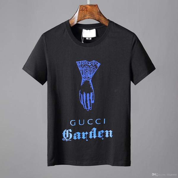 Mode Männer kurzarm t-shirt 3D Print palm lustiges muster hochwertige baumwolle männer kurzarm t-shirt sommer Freizeit tops tees