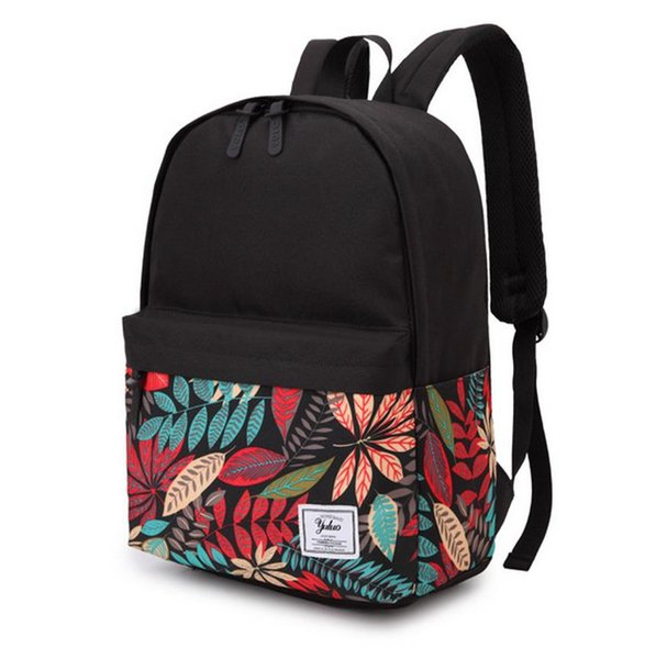 """16"""" Fashion Student Schoolbag Oxford Cloth Bookbags Teenagers Printing Backpack Boys Girls Casual Daily Durable Backpacks"""