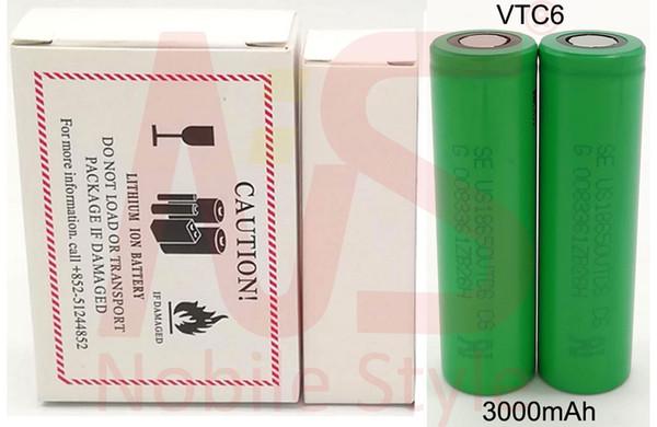 VTC6 3000mAh