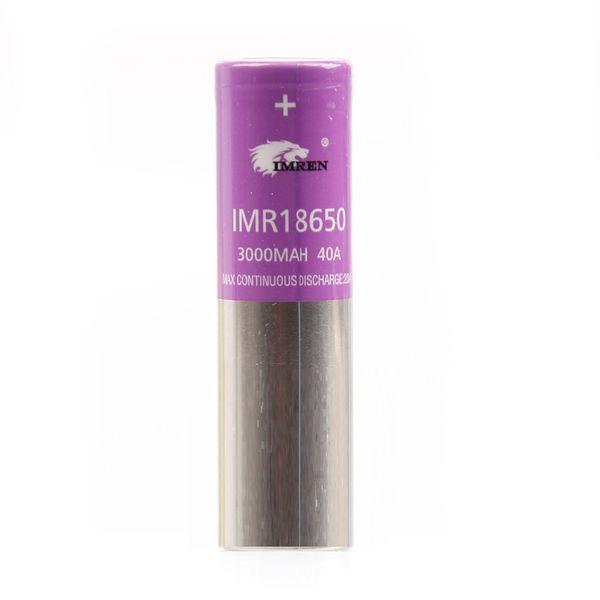 IMR 18650 3000MAH 40А Фиолетовый