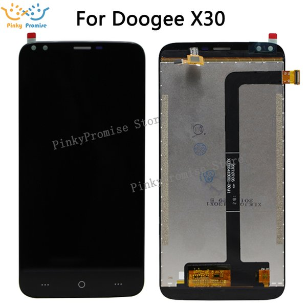 For Doogee X30 LCD Display+Touch Screen Assembly Repair Part Phone Accessories +Tools +Film For Doogee X30 Cellphone Part