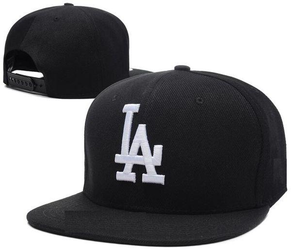 Newest 2019 LA Gold Logo bone High Quality Snapback Hat Snap Back Hats For Men Basketball Cheap Caps Adjustable men women Baseball Cap