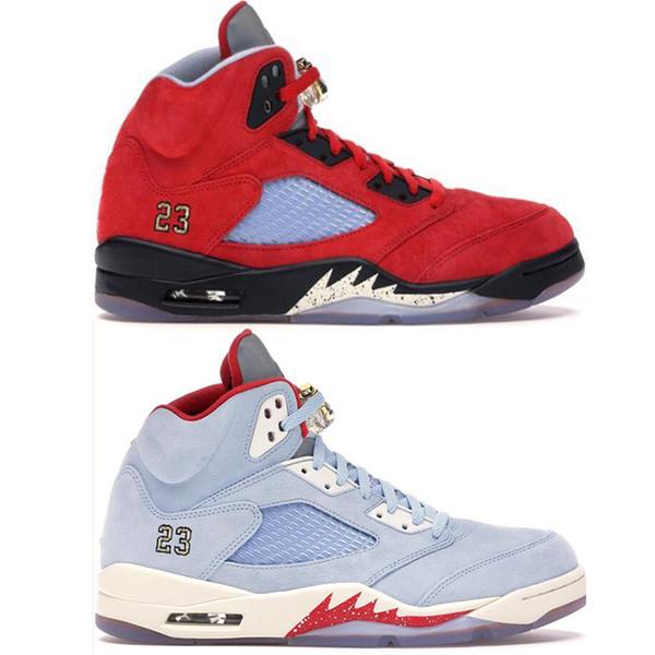 Air Jordan 5 Retro Red Suede Rouge Achat Vente basket