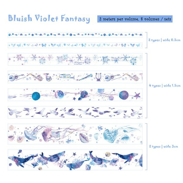 Blue-Purple Fantasy