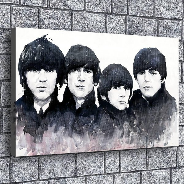 Beatles,Home Decor HD Printed Modern Art Painting on Canvas (Unframed/Framed)