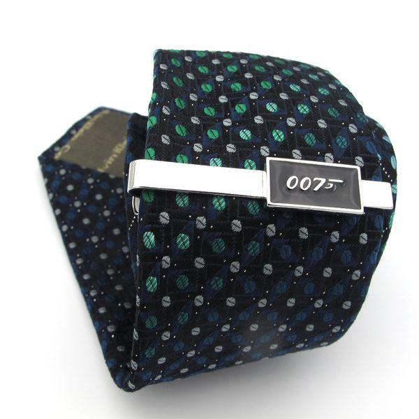 IGame Superhelden Krawattenklammern Qualität Messing Material Roman Schwarz Farbe 007 James Bond Krawattenstange Für Männer Freies Verschiffen