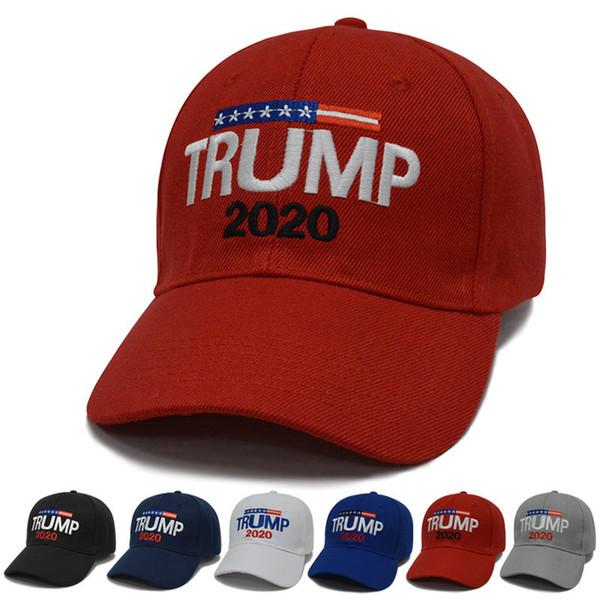 Nova Chegada Trunfo 2020 Tornar a América Grande Novamente Chapéu Donald Navy papai Cap EUA Republicano Preto-TOP