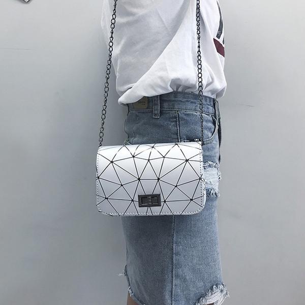 Sulla nuova 2018 nuova moda piazzetta borsa signore casuali sacchetto inclinato monospalla