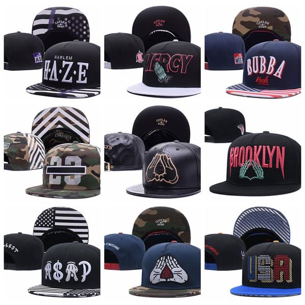 Cayler Sons camo Gorras de béisbol HAZE MERCY BUBBA 23 BROOKLYN ASAP USA  Hip Hop Snapback b6faee48ace