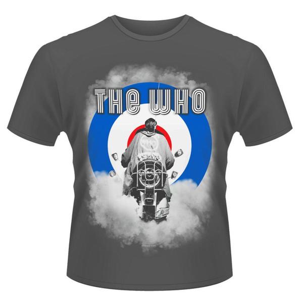 CAMISETA Who 'Smoke Quadrophenia' - Camiseta alta y clásica de alta calidad Nuevo y Oficial