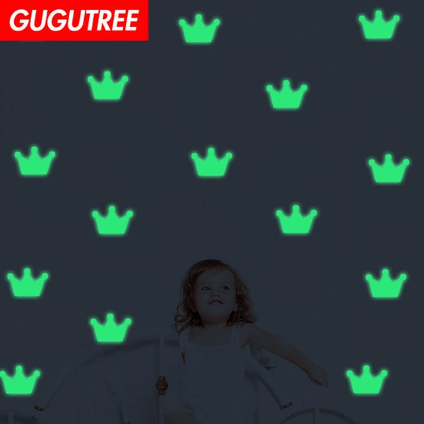 Decorate Home Diy crown cartoon art glow wall sticker decoration Decals mural painting Removable Decor Wallpaper G-583