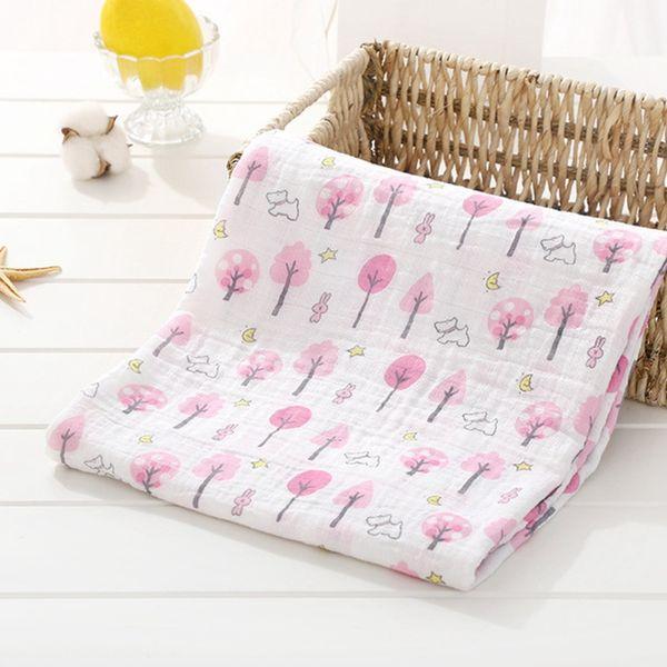 2019 Hot Baby Muslin Blankets 100% Cotton Infant Wrap Blankets Newborn Swaddle Soft Infant Gauze Bathing Towels Muslin Swaddle