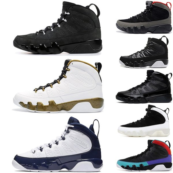 Wth box 9 Bred Men Scarpe da basket 9s IV Dream It Do Antracite OG space jam Scarpe sportive UNC Sneaker