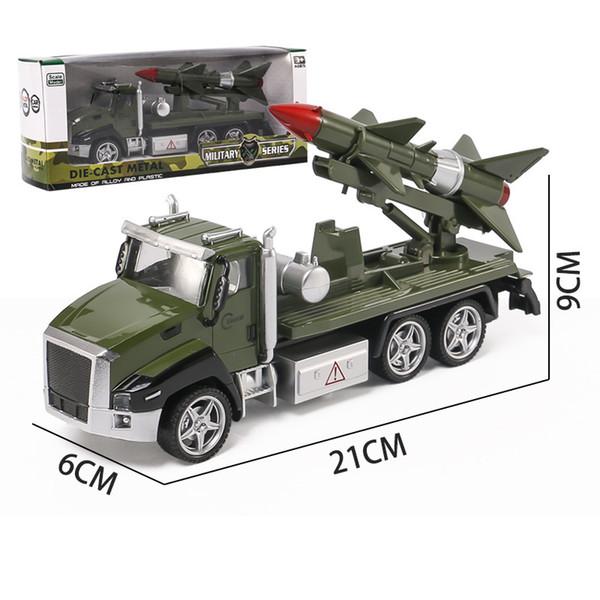 Military Missile Car