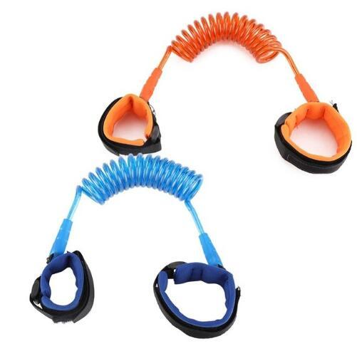 Bambini anti cinturino perso 1.5 m bambini sicurezza wristband collegamento al polso bambino guinzaglio cinturino cinturino per bambini guinzaglio cinturino da passeggio 100 pz OOA6952