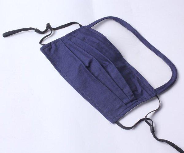 masque avec 1 pcs Filtre (Bleu)