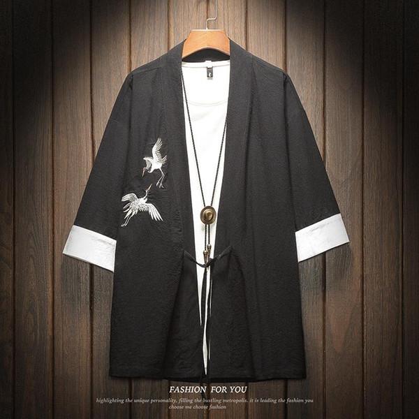 Noir Kimono shirt1