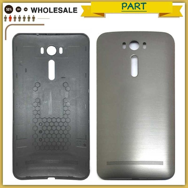 new Rear ZE601KL Housing Case plastic For ASUS Zenfone 2 Laser ZE600KL ZE601KL battery Back Cover door Battery