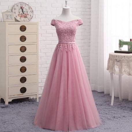 dusty pink long