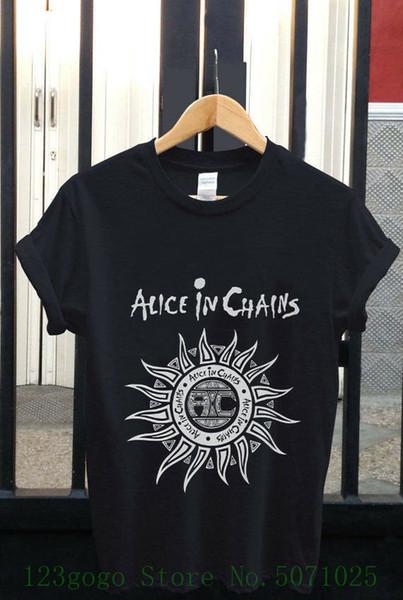 Vintage-1993 Alice Zincirleri Kir Tur Grunge Metal T Gömlek Abd S-3xl Moda Gençlik T Gömlek Ücretsiz Kargo