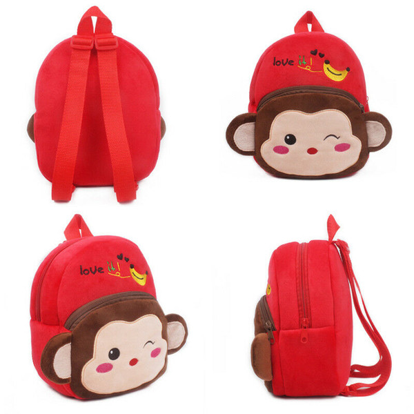 Toddler Kids Child Boy Girl Cartoon Backpack Shoulder Bag Rucksack  School bag