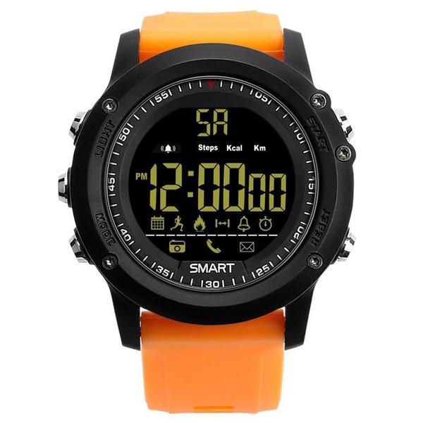 Akıllı İzle EX17 IP67 su geçirmez kronometre Smartwatch çağrı ve SMS hatırlatma ile Spor Izci spor pedometre akıllı saat