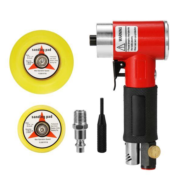 Mini Máquina de lixar pneumática de alta velocidade leve Lixadeiras de raiva do ar Polimento Ferramenta de moagem de alta resistência resistente ao desgaste