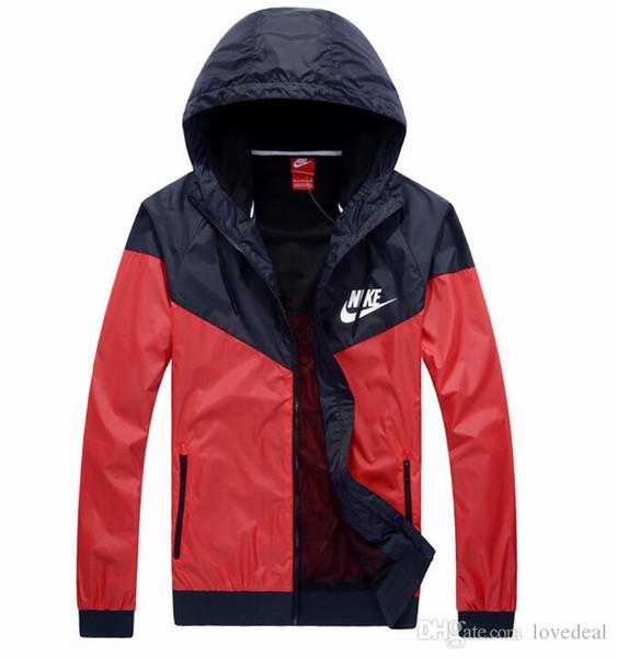 Spedizione gratuita Designer Mens Coat Felpa con cappuccio da donna Jacket manica lunga primavera Sportswear Zipper Windcheater Plus Size Capispalla bnmm