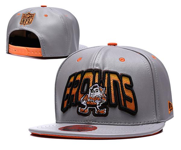 2019 Cleveland Ayarlanabilir Şapka Brownse Nakış Takımı Logosu Snapback Tüm Takım Wholeasle Örgü Kasketleri Bir Boyut Caps