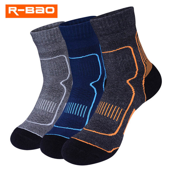 exclusive deals free shipping new release 2019 R BAO Trekking Hiking Socks For Men Sweat Absorbent Breathable Quick  Drying Sports Running Skiing Socks Anti Slip Cycling From Lvmangguo, $38.33  ...