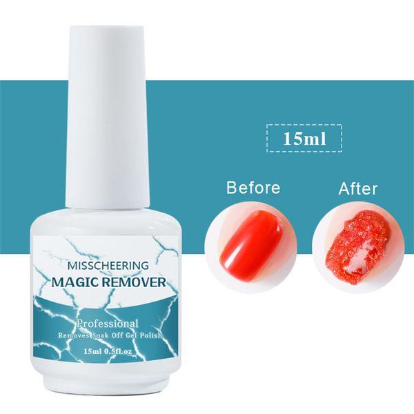 8 ml / 15 ml Nagel UV Gelpoliermittel Berstmagie Entfernen Gel Flüssige Oberflächenschicht Nail art Acryl Reinigen Entfetter Für Nägel