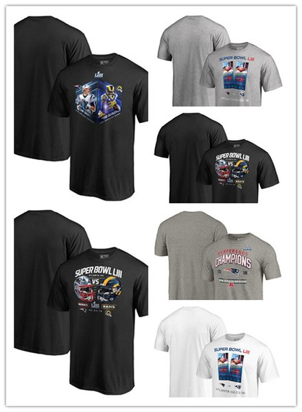 2019 Rams Vs Patriots 2018 AFC Champions Halfback Sweep Tri Blend Youth  Super Bowl LIII Dueling Ticket Chair Route Audible Player Graphic T Shirt  From