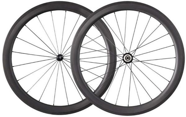breite 25mm chinesische oem farbe aufkleber carbon bike klammerräder basaltbremsfläche rennrad laufradsatz 50mm powerway R13