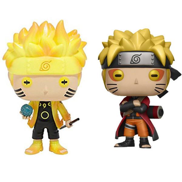 Funko Pop Naruto Figuras de acción juguetes PVC dibujos animados niños Anime juguetes C6502