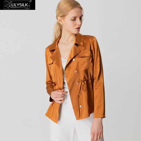 LILYSILK Jacket Silk You Need This Chic Clearance Sale