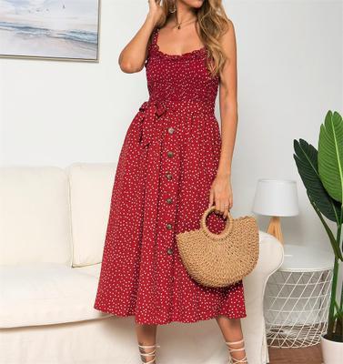 Nouvelle Arrivée Femmes De Luxe Robes D'été Imprimé Femmes De Vacances Designer Robes Casual Femmes Robes De La Mode Tops Femmes Vêtements